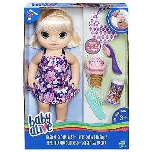 Boneca Baby Alive Sobremesa Mágica Loira - Hasbro C1090