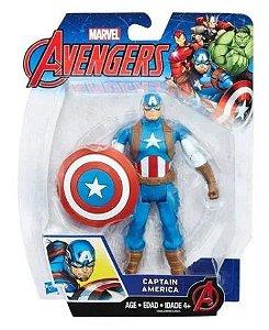 Boneco Avengers Legends Vingadores 15cm B9939 / C0652 Capitão América