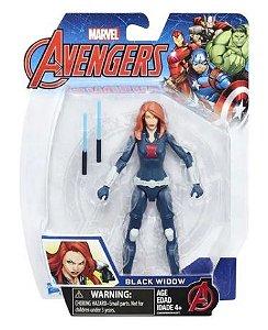 Boneca Viuva Negra 15cm - Black Widow Marvel Avengers Hasbro B9939