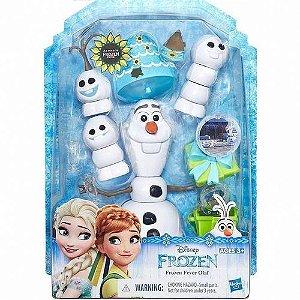 Boneco Olaf Febre Congelante Com Espirros Snowgies Hasbro