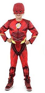 Fantasia The Flash Infantil Luxo - Liga da Justiça