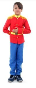 Fantasia Principe Infantil Luxo