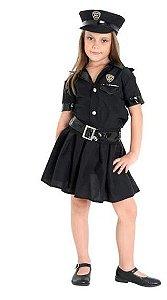 Fantasia Policial Infantil Feminino