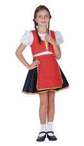 Fantasia Alemanha Feminino Infantil