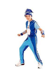 Fantasia Sportacus Infantil Standard - Sportacus