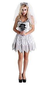Fantasia Noiva Cadáver - Halloween