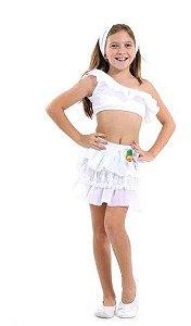 Fantasia Baianinha Verão Infantil - Carnaval