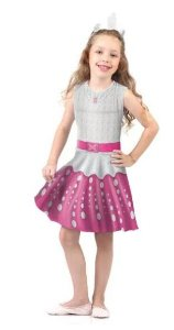 Fantasia Barbie Rock In Royals Infantil Pop