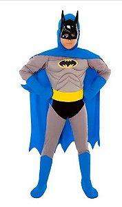 Fantasia Batman Infantil Peitoral - Os Bravos e Destemidos