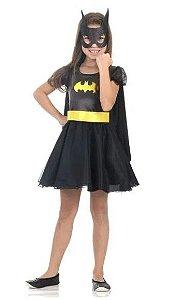 Fantasia Batgirl Princesa Infantil - Liga da Justiça