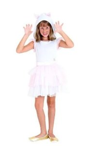 Fantasia Gatinha Infantil Vestido