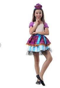 Fantasia Madeline Hatter Infantil - Ever After High