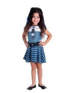 Fantasia Frankie Infantil Pop - Monster High