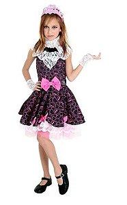 Fantasia Draculaura 1600 Infantil - Monster High