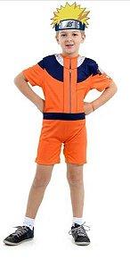 Fantasia Naruto Curto Infantil
