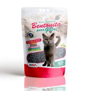 Areia Sanitária Bentonita para gatos Petlon