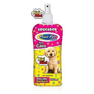 Educador Sanitário Para Cães Xixi Não 500ml Plast Pet