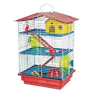 Gaiola Hamster 3 Andares Desmontável