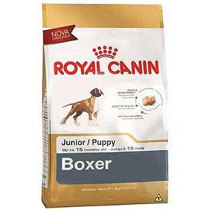 Ração Royal Canin Raças Específicas para Cães Filhotes de Boxer - 12Kg