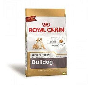 Ração Royal Canin Raças Específicas para Cães Filhotes de Bulldog - 12Kg