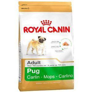 Ração Royal Canin - Raças Específicas - Para Cães Adultos da Raça Pug 2,5Kg