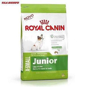Ração Royal Canin - X-small Junior - Para Cães Filhotes 2,5Kg