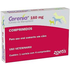Antiemético Zoetis Cerenia para cães - 4 Blister de 160mg