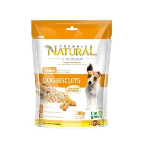 Dog Biscuits Para Cães Adultos - Formula Natural 200gr