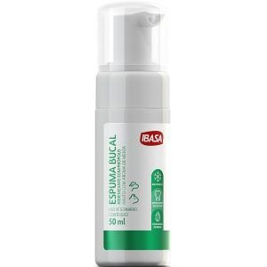 Espuma Bucal Ibasa Para Cães e Gatos - Spray 50ml