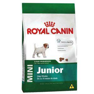 Ração Royal Canin - Mini Junior - Para Cães Filhotes de Raças Pequenas 1Kg