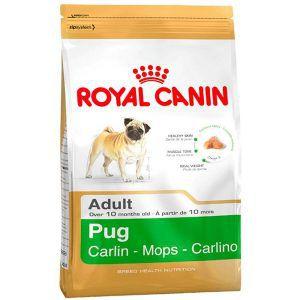 Ração Royal Canin - Raças Específicas - Para Cães Adultos da Raça Pug 1Kg