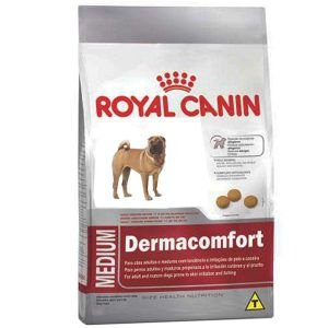 Ração Royal Canin - Medium Dermacomfort - Para Cães Adultos Ou Idosos de Raças Médias 10,1Kg