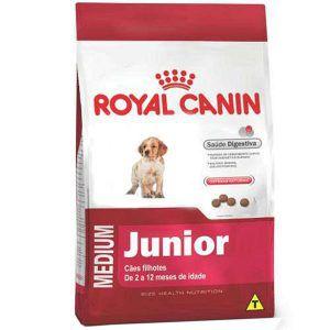 Ração Royal Canin - Medium Junior - Para Cães Filhotes de Raças Médias