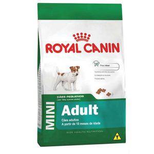 Ração Royal Canin - Mini Adult - Para Cães Adultos de Raças Pequenas 1Kg