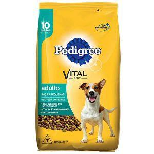 Ração Pedigree - Para Cães Adultos de Raças Pequenas 1Kg