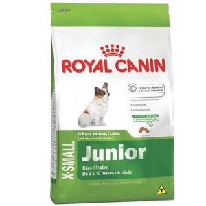 Ração Royal Canin - X-small Junior - Para Cães Filhotes 1Kg