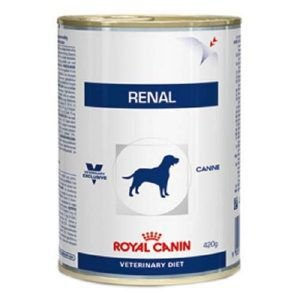 Ração Royal Canin Lata - Canine Veterinary Diet Renal Wet - Para Cães com Doenças Renais 410g