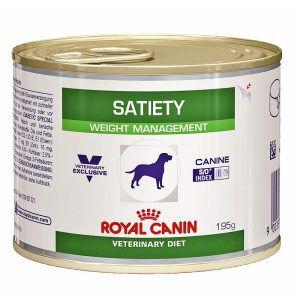 Ração Royal Canin Lata Canine Veterinary Diet Satiety Support Wet Para Cães Adultos Obesos 195 Gr