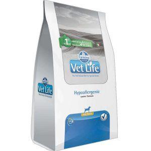 Ração Farmina Vet Life - Natural Hypoallergenic - Para Cães de Raças Pequenas 2Kg