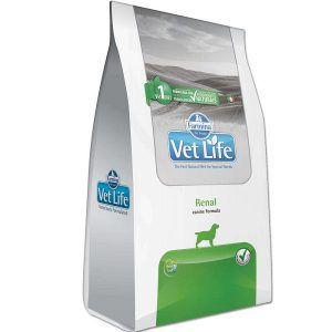 Ração Farmina Vet Life - Natural Renal - Para Cães Adultos com Insuficiencia Renal 2Kg