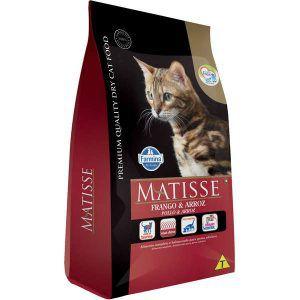 Ração Farmina Matisse Frango e Arroz Para Gatos Adultos 800 Gr