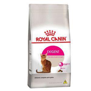Ração Royal Canin Feline Exigent Para Gatos Adultos com Paladar Exigente 400 Gr