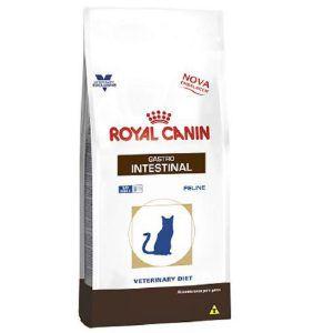 Ração Royal Canin - Feline Veterinary Diet Gastro Intestinal - Para Gatos com Doenças Intestinais 1,5Kg