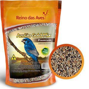 Ração Reino das Aves - Azulão Gold Mix – 500g