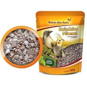 Ração Reino das Aves Boiadeiro Mineral 500 Gr
