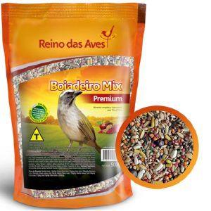 Ração Reino das Aves Boiadeiro Mix 500 Gr