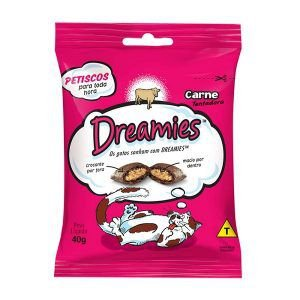 Petisco Dreamies Para Gatos 40gr