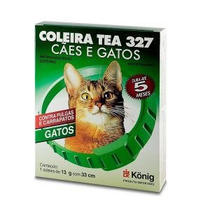 Coleira Koning Tea - Antipulgas e Carrapatos