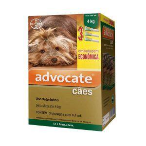 Antipulgas Bayer Advocate - Kit Combo Para Cães