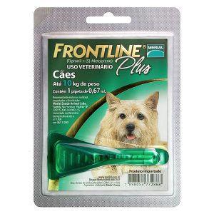 Antipulgas e Carrapatos - Frontline Plus Para Cães